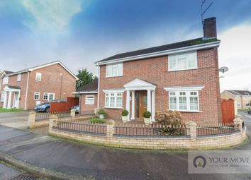 Thumbnail 4 bedroom detached house for sale in Ninfield Close, Carlton Colville, Lowestoft