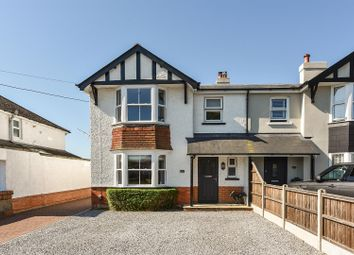 Thumbnail 4 bed semi-detached house for sale in The Beeches, Weyhill Road, Andover