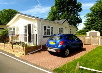 Thumbnail 2 bed mobile/park home for sale in Woodlands Park, Biddenden, Ashford