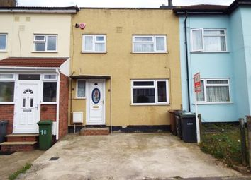 Thumbnail 2 bed terraced house for sale in Pembroke Avenue, Luton, Bedfordshire