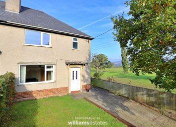 Thumbnail 3 bedroom semi-detached house to rent in Llanfair Dyffryn Clwyd, Ruthin