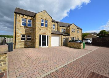 Thumbnail 5 bed detached house for sale in Willow Close, Lepton, Huddersfield