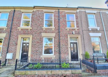 Thumbnail 3 bed terraced house for sale in Coburg Street, Gateshead