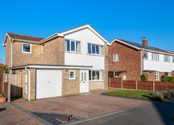 Thumbnail 4 bed detached house for sale in Moor Park, Ruskington, Sleaford, Lincolnshire