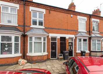 Thumbnail 3 bed terraced house to rent in Richmond Avenue, Leicester