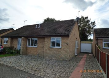 Thumbnail 2 bed semi-detached bungalow to rent in Woodside, Beccles