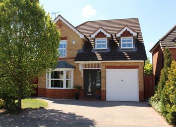 Thumbnail 4 bed detached house for sale in Azalea Close, Lutterworth