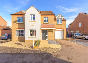 Thumbnail 4 bed detached house for sale in Half Crown Court, Boston