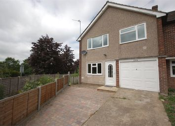 Thumbnail 3 bed semi-detached house to rent in Pryors Close, Bishop's Stortford