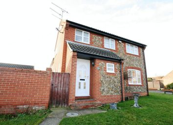 Thumbnail 3 bedroom detached house for sale in Warren Avenue, Fakenham