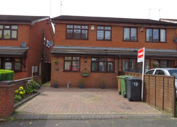 Thumbnail 3 bedroom semi-detached house for sale in Walsingham Street, Walsall