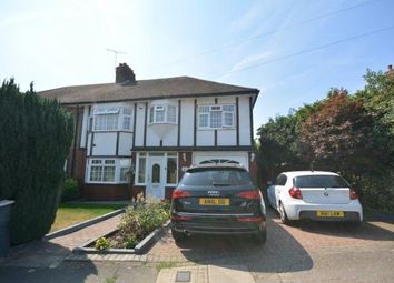Thumbnail 4 bed semi-detached house for sale in The Ridgeway, Romford