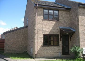Thumbnail 2 bed end terrace house to rent in Watsons Close, Hopton, Great Yarmouth