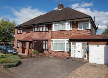 Thumbnail 3 bed semi-detached house for sale in Broadfields Avenue, Edgware