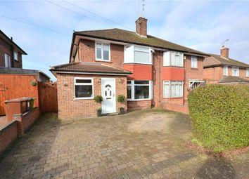 Thumbnail 4 bed semi-detached house for sale in Thornbury Gardens, Borehamwood, Hertfordshire