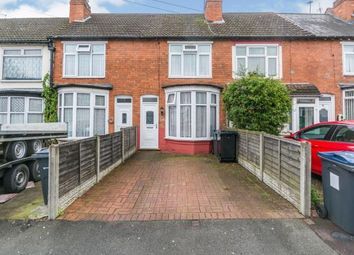 Thumbnail 2 bed terraced house for sale in Geoffrey Road, Sparkhill, Birmingham, West Midlands