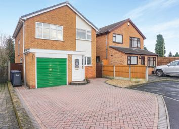 Thumbnail 3 bed detached house for sale in Heathlands Drive, Uttoxeter
