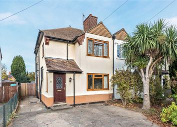Thumbnail 3 bed semi-detached house for sale in Wheatash Road, Addlestone, Surrey