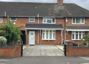 Thumbnail 3 bed terraced house to rent in St Johns Road, Walsall