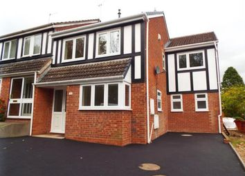 Thumbnail 4 bed semi-detached house for sale in Redstone Close, Church Hill North, Redditch, Worcestershire
