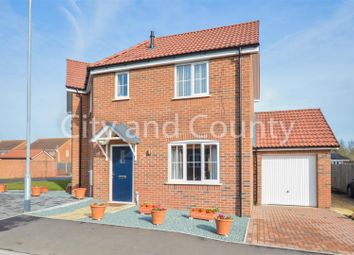 Thumbnail 3 bed semi-detached house for sale in St. Vincent Close, Crowland, Peterborough