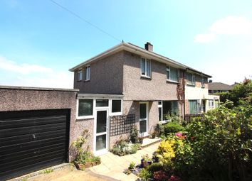 Thumbnail 3 bed semi-detached house to rent in Copse Road, Plympton, Plymouth