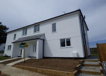Thumbnail 3 bed semi-detached house to rent in Sunderland Avenue, St. Eval, Wadebridge