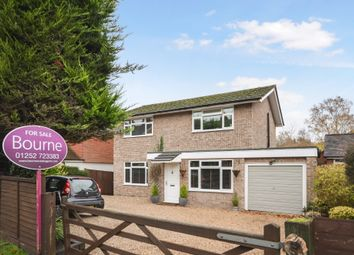 4 bed detached house for sale in Upper Bourne Lane, Farnham, Surrey GU10