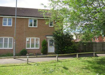 Thumbnail 3 bed end terrace house for sale in Langridge Circle, Watlington, King's Lynn