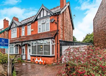 Thumbnail 3 bed semi-detached house for sale in Old Hall Road, Sale
