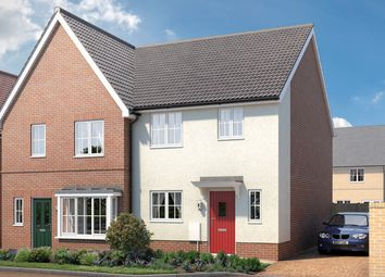"""Thumbnail 3 bed property for sale in """"The Leigh"""" at Larch Way, Red Lodge, Bury St. Edmunds"""