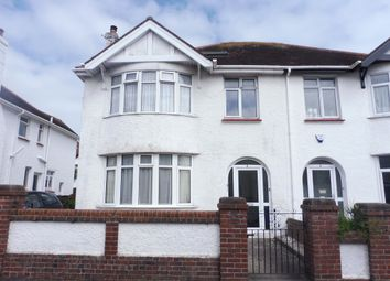 Thumbnail 1 bedroom flat for sale in Logan Road, Paignton