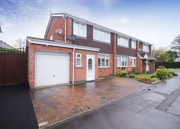 Thumbnail 3 bed semi-detached house for sale in Manderley Close, Coventry