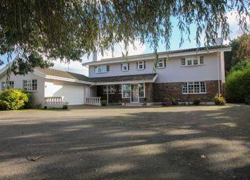 Thumbnail 5 bed detached house for sale in La Route De St. Jean, St. Mary, Jersey
