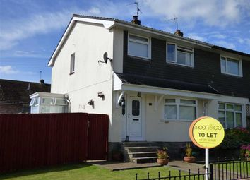 Thumbnail 3 bed semi-detached house to rent in St. Kingsmark Avenue, Chepstow