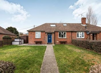 Thumbnail 3 bedroom bungalow for sale in South Warnborough, Hook, Hampshire