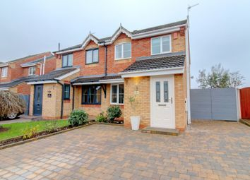 Thumbnail 3 bed semi-detached house for sale in Milan Grove, Longton, Stoke-On-Trent