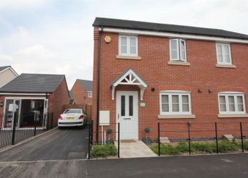 Thumbnail 3 bedroom semi-detached house for sale in Star Cottages, Private Road, Stoney Stanton, Leicester