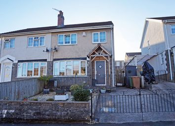 Thumbnail 3 bed semi-detached house for sale in Trinity Close, Ystrad Mynach, Hengoed