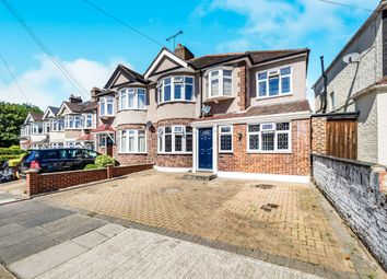 Thumbnail 4 bed semi-detached house for sale in Hamilton Avenue, Romford