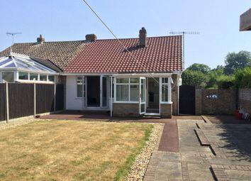 Thumbnail 2 bed semi-detached bungalow for sale in Christchurch Crescent, Bognor Regis