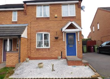 Thumbnail 3 bedroom semi-detached house for sale in Bracken Road, Shirebrook, Mansfield