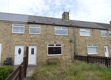 Thumbnail 2 bed terraced house to rent in Seventh Row, Ashington