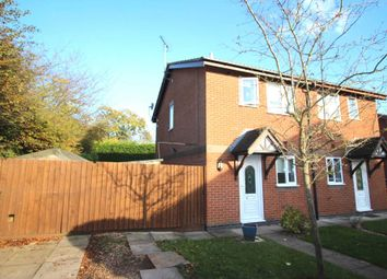 Thumbnail 2 bedroom semi-detached house for sale in Woodhouse Road, Narborough, Leicester