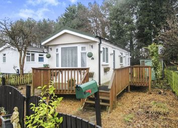 Thumbnail 1 bed bungalow for sale in Sycamore Road Lindow Farm Caravan Park, Mobberley, Knutsford