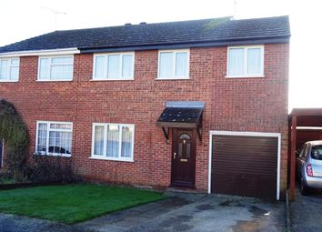 Thumbnail 4 bed semi-detached house for sale in Ludbrook Close, Needham Market, Ipswich