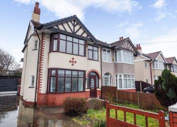Thumbnail 3 bed semi-detached house for sale in Luton Road, Thornton-Cleveleys