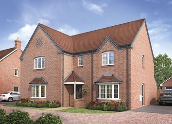 "Thumbnail 5 bed detached house for sale in ""The Charlecote"" at Ettington Road, Wellesbourne, Warwick"