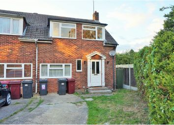 Thumbnail 3 bedroom end terrace house for sale in Thornton Road, Reading
