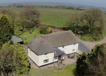 Thumbnail 4 bed detached house for sale in East Worlington, Crediton